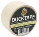Shurtech Brands 281261 Duct Tape, Glow In The Dark, 1.88-In. x 10-Yds.