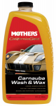 Mothers Polish 05674 California Gold Carnauba Washer or Washing & Wax, 64-oz.
