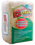 Rhino Seed & Landscaping Supply MLEZSTRAWMULCH EZ-Straw Seeding Mulch With Tack, 500-Sq. Ft. Coverage
