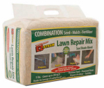Rhino Seed & Landscaping Supply MLEZSUNSHD11 EZ-Straw Lawn Repair Sun/Shade Mix, 11-Lbs., 200-Sq. Ft. Coverage