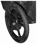 Rubbermaid Commercial Prod M1564200 Wheelbarrow Wheel, Non-Pneumatic, 20-In.