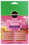 Scotts Miracle Gro 100366 Orchid Plant Food Spikes, 12-Pk.