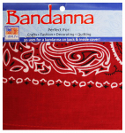Carolina Creative Products B22PAI-150053 Paisley Cotton Bandana