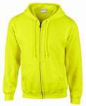 Gildan Usa 270009 MED GRN Full Zip Hoody