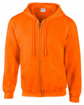 Gildan Usa 270015 MED ORG Full Zip Hoody