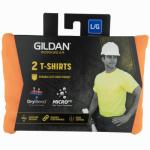Gildan Usa G2300ORG-L 2PK Large ORG S/S T Shirt