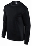 Gildan Usa 285424 XL BLK L/S T Shirt