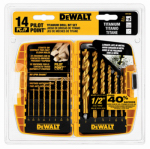 Dewalt Accessories DW1354 14PC Titanium PP Drill Bit Set