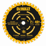 Dewalt Accessories DW3194 Single Precision Framing Saw Blade, 7.25-In., 40T