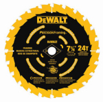 Dewalt Accessories DW3199 7-1/4 24T Single Precision Framing Saw Blade
