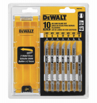 Dewalt Accessories DW3741C 10 Piece or PC T-SHANK JIG SAW BLADE SET W/CASE