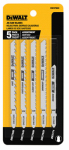 Dewalt Accessories DW3795H Jigsaw Blade Set, 5-Pc.