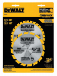 "Dewalt Accessories DW9058 5-3/8"" CORDLESS CARBIDE BLADE COMBO PK(DW9052,DW9055)"