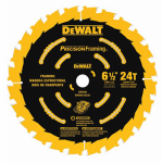 Dewalt Accessories DW9199 6-1/2 24T Single Precision Framing Saw Blade
