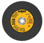 Dewalt Accessories DWA3501 Arbor Metal Abrasive Wheel, A24N, 7-In. x 1/8-In. x 5/8-In.