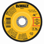 "Dewalt Accessories DWA4511 4.5"" x 1/8"" x 7/8"" Metal Grinding Wheel"