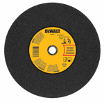 "Dewalt Accessories DWA8011 14"" x 7/64"" x 1"" General Purpose Chop Saw Wheel-Metal"
