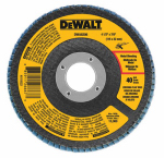 Dewalt Accessories DWA8208 Zirconia T29 Flap Disc, 80-Grit, 4.5 x 7/8-In.