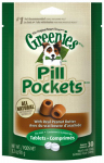 American Distribution & Mfg 10126 Pill Pocket Dog Treats, Tablet, Peanut Butter, 3.2-oz.