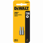Dewalt Accessories DW2660-2 T20 Torx Bit Tip, 1-In., 2-Pk.