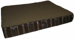 Petmate 26925 Pet Bed, Orthopedic, Brown Foam, 30 x 40 x 3-1/2-In.