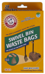 Petmate 71035 Dog Waste Bags, For Bin & Rake, 20-Ct.