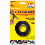 Super Glue Corp/Pacer Tech 15408-12 Silicone Tape, Black, 1-In. x 10-Ft.