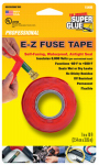 Super Glue Corp/Pacer Tech 15406-12 Silicone Tape, Red, 1-In. x 10-Ft.