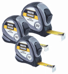 Hangzhou Great Star Indust 163007 3-Pc. Tape Measure Set
