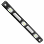 Hangzhou Great Star Indust 163013 Heavy-Duty I-Beam Level, Aluminum, 24-In.