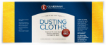 Guardsman Products 462500 Dusting Cloths, Cotton, 12-Pk.