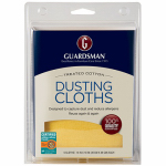 Guardsman Products 462700 Dusting Cloths, Cotton, 5-Pk.