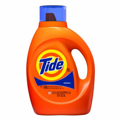 Tide 2x Ultra Laundry Detergent Concentrated Original Scent