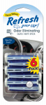 American Covers 09431T Car Air Freshener, Vent Stick, New Car Scent, 6-Pk.