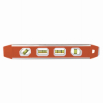 Johnson Level & Tool 1421-1200 Torpedo Level, Magnetic, Aluminum Reinforced, 12-In.