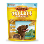 American Distribution & Mfg 33552 Mini Naturals Dog Treats, Peanut Butter, 6-oz. Pouch