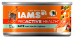 American Distribution & Mfg 04337 ProActive Health Cat Food, Salmon P t  For Adult Cats, 5.5-oz. Can