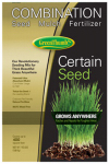 Barenbrug Usa 22222 Premium Certain Seed, Fertilizer & Mulch, 10-Lbs.