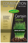 Barenbrug Usa 44444 Premium Certain Seed, Fertilizer, & Mulch, 10-Lbs.