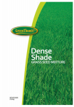 Barenbrug Usa 55555 Grass Seed, Dense Shade, 25-Lbs.