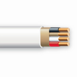 Marmon Home Improvement Prod 147-1403CR 100-Ft. 14/3 Non-Metallic Sheathed Electrical Cable With Ground