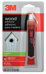 3M 18021 Outdoor Wood Adhesive, Foam Urethane,  1-oz.
