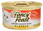 American Distribution & Mfg 42944 Cat Food, Salmon, 3-oz. Can
