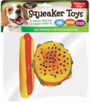 Flp 8852 Hamburger/Hot Dog Toy