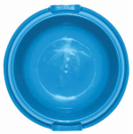 Flp 8857 BLU Plastic Dog Food Bowl