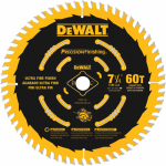 Dewalt Accessories DW3196 Precision Finishing Saw Blade, 60 Teeth, 7.25-In.