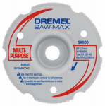 Dremel Mfg SM600 Saw-Max Flush Cut Carbide Wheel, 3-In.