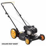 Husqvarna Outdoor Products PR500N21SH  961120134 2-n-1 Gas Lawn Mower, Hi Rear Wheels, 140cc Engine, 21-In.