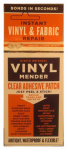 Lhb Industries BRT-1 Vinyl & Fabric Tear Mender, Clear Adhesive Patches