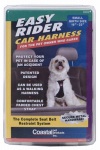 Coastal Pet Products 06000 BLKSML Dog Car Harness, Black, Small